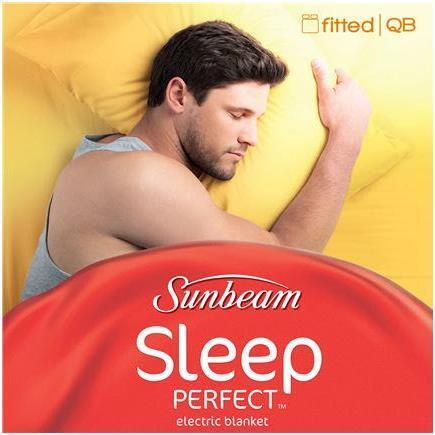 Sunbeam BL5151 Sleep Perfect Fitted Heated Blanket (Queen)