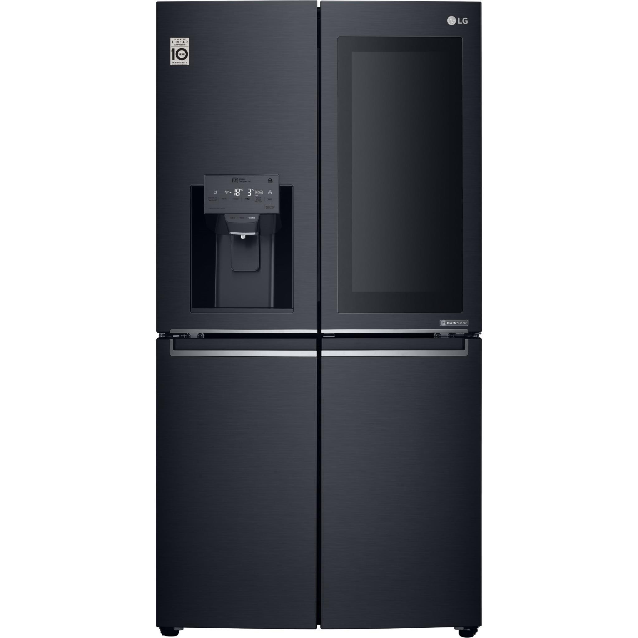 LG GF-V910MBSL 910L Door-in-Door French Door Fridge (Black S/Steel)