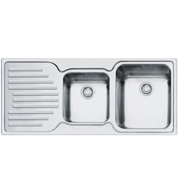 Franke PFX-P621LHD Pacific Plus 1 and 3/4 Bowl Left Hand Drainer Sink