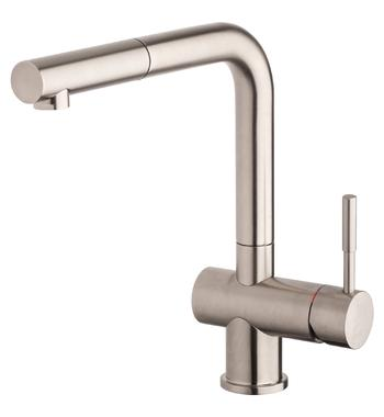 Gessi 13193BN Oxygene Kitchen Mixer with Pull-Out Tap