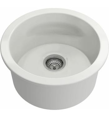 Turner Hasting CUR47FS Cuisine Round 47 Single Bowl Inset and Undermount Sink