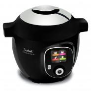 Tefal – CY8518 – Cook4Me+ Smart Multicooker and Pressure Cooker – Black