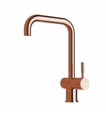 Sussex Taps VSMQ-19 Tumbled Copper Voda Sink Mixer Tap