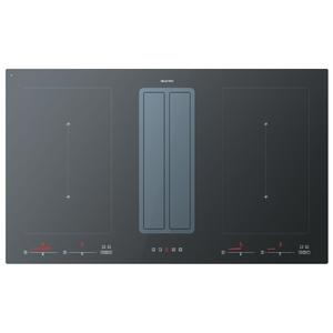 ILVE 90cm Induction Cooktop with Integrated Ventilation System FUSION