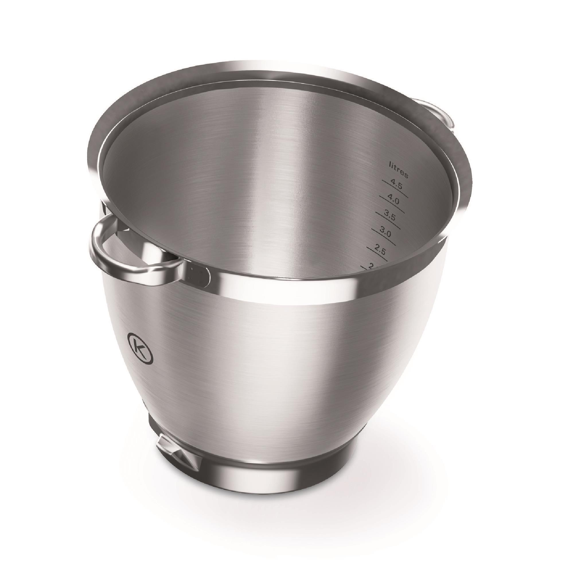 Kenwood KAT531SS Chef XL Sense Stainless Steel Bowl with Handles