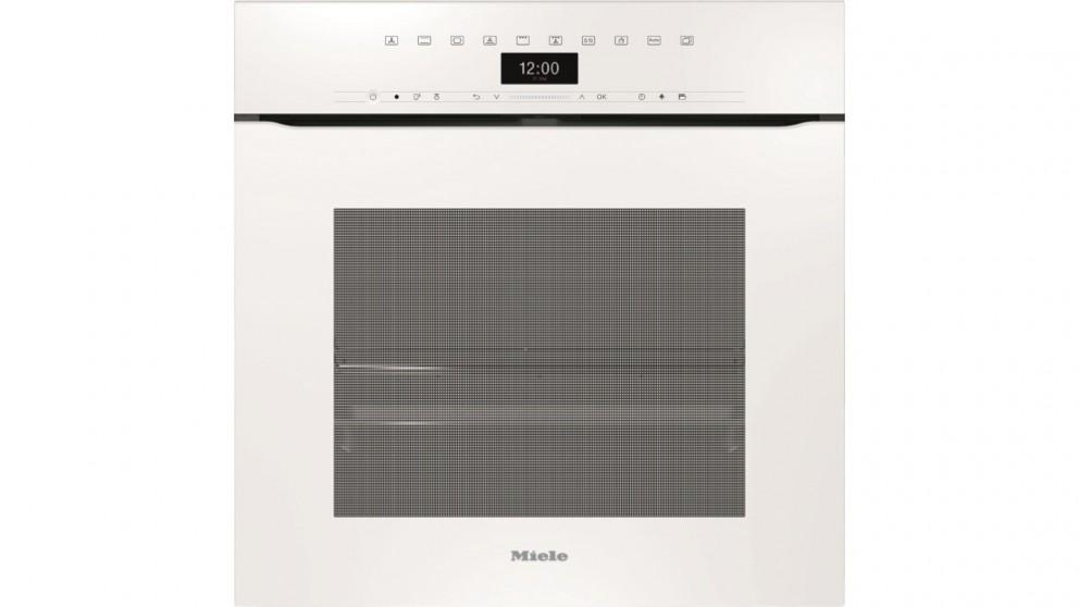 Miele H 7464 BPX 600mm Handleless Pyrolytic Oven – Brilliant White