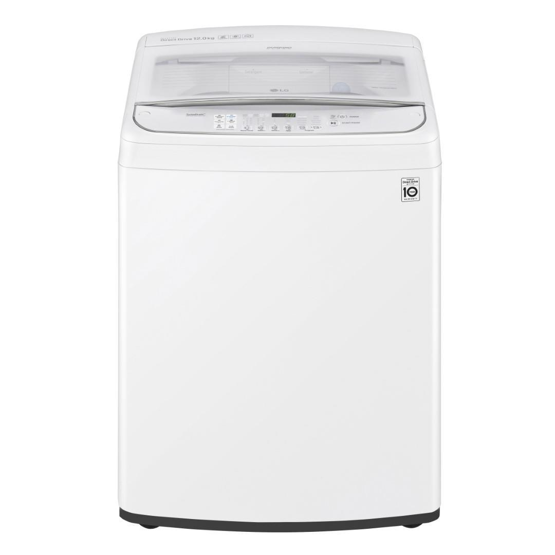 LG WTG-1234WF 12kg Direct Drive Top Load Washer (White)