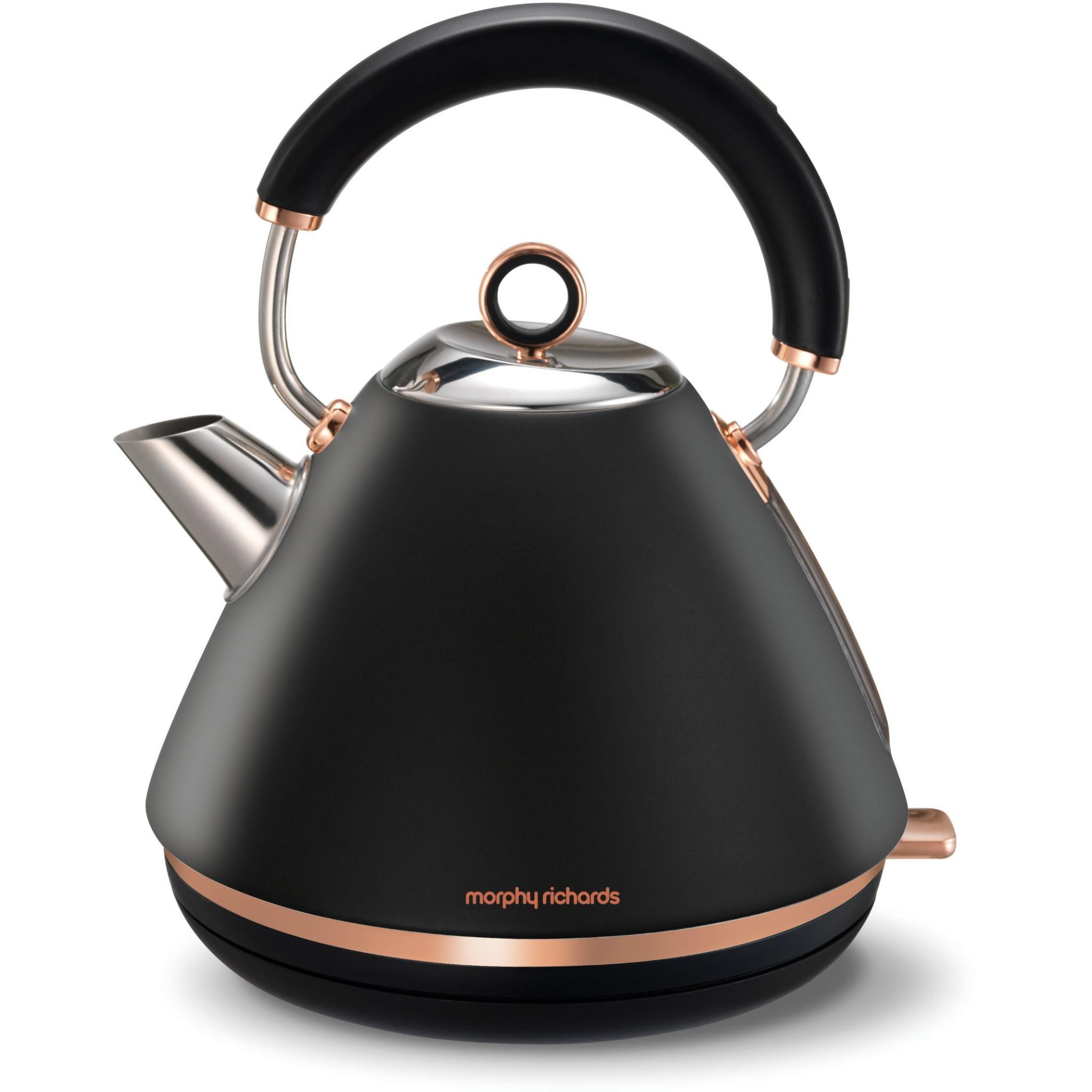 Morphy Richards Accents Traditional Pyramid Kettle (Rose Gold)