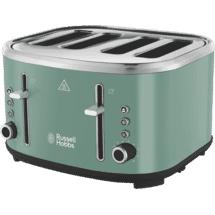 Russell Hobbs Legacy 4 Slice Toaster- Green