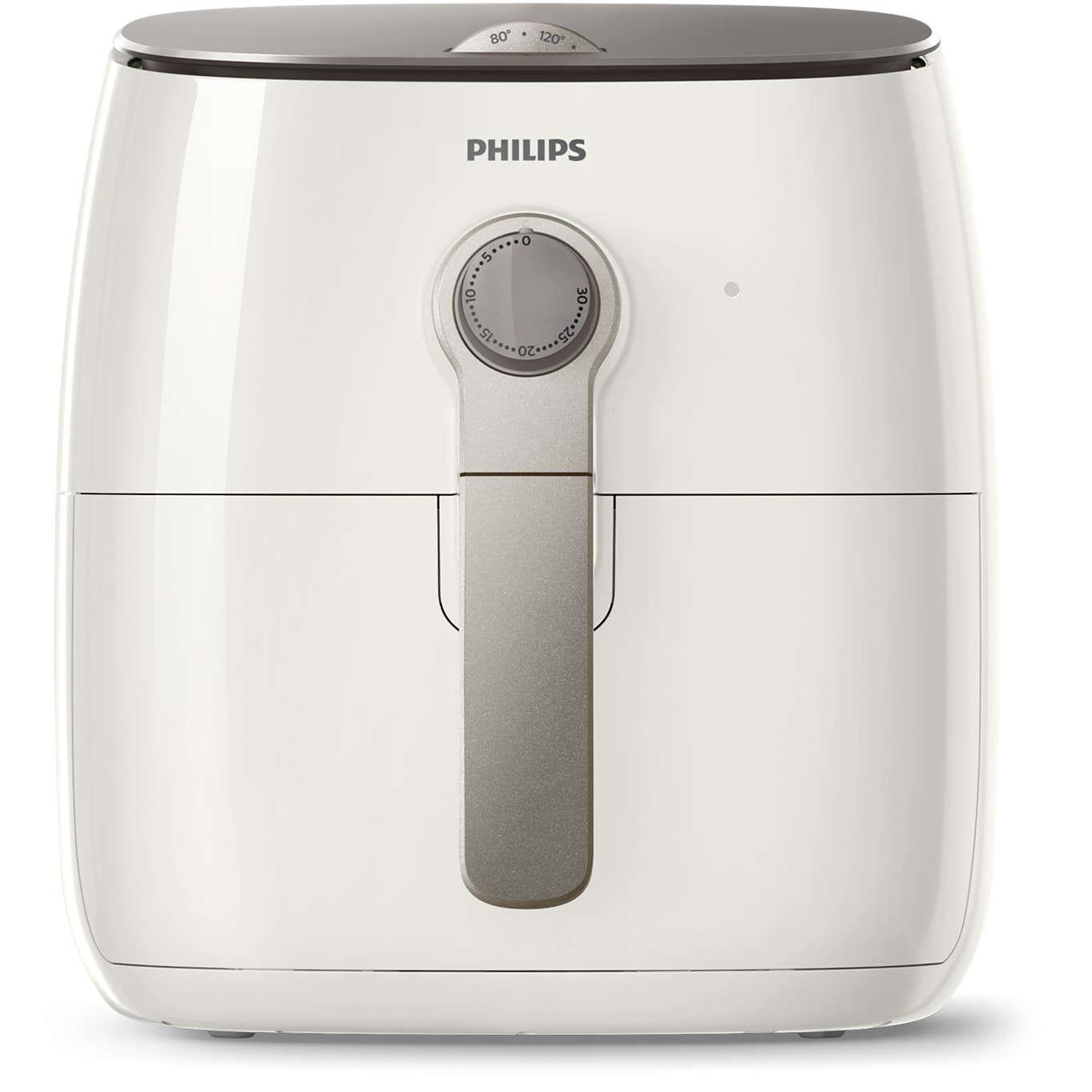 Philips HD9721/21 Viva Collection TurboStar Airfyer (White)
