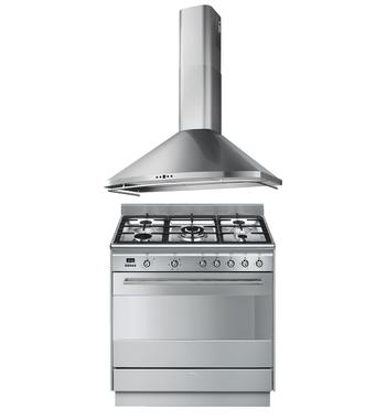 Smeg Cooking Package FS9606XSK3039P