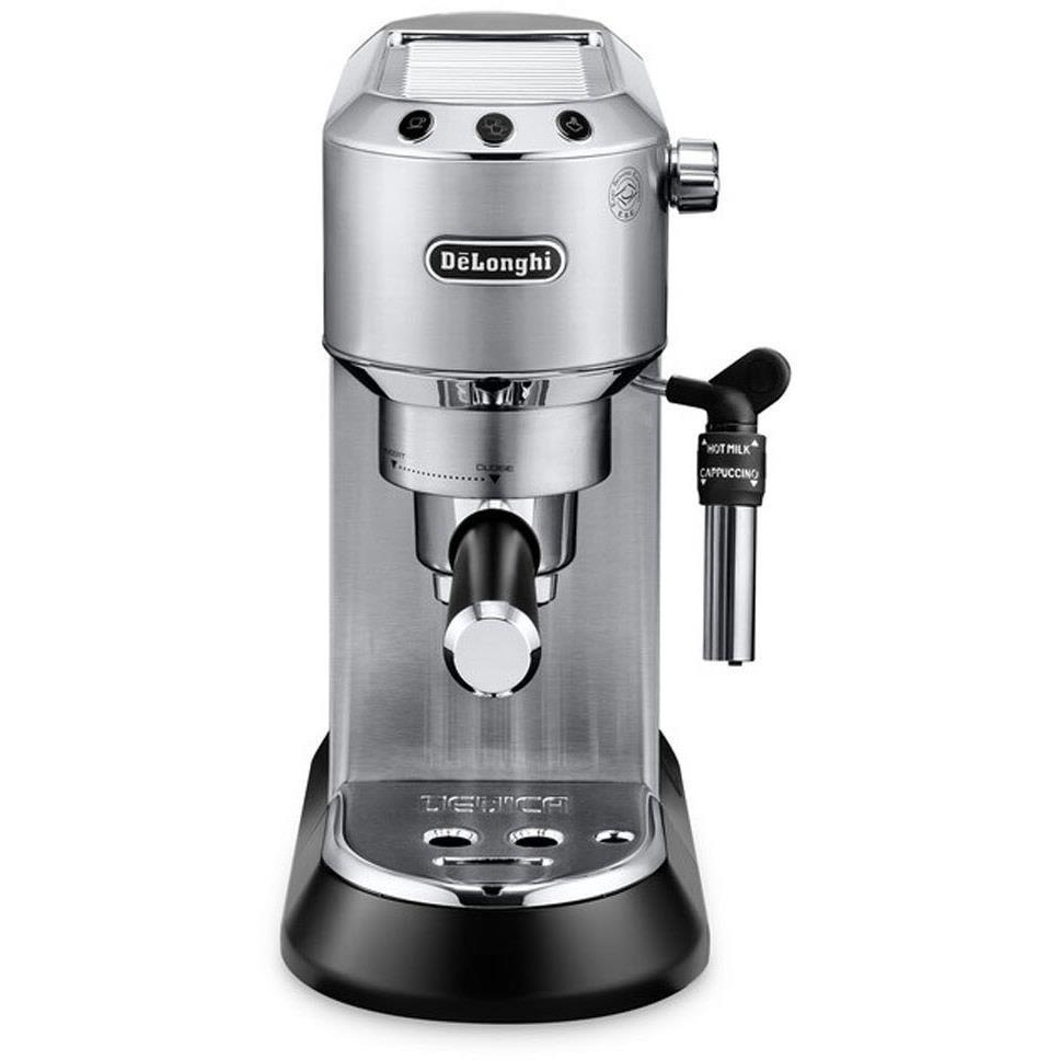 DeLonghi Dedica Pump Espresso Coffee Machine (Metal)
