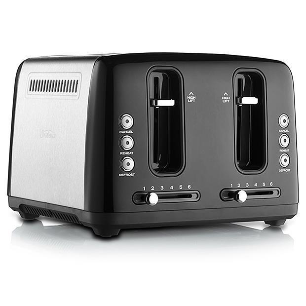 Sunbeam Simply Stylish 4 Slice Toaster (Black)