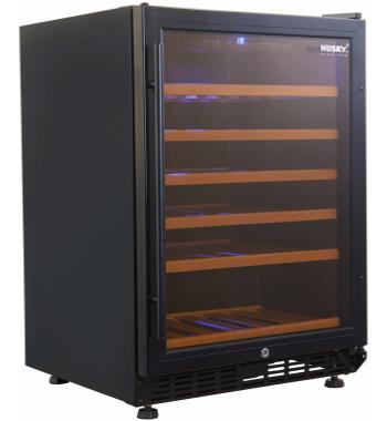Husky Vino Pro 46 Bottle Wine Storage Cabinet HUS-WC54S-BK-ZY