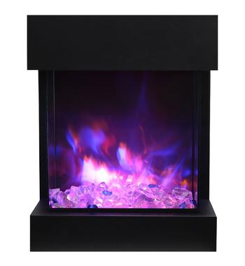 Amantii CUBE-2025WM The Cube Electric Fireplace