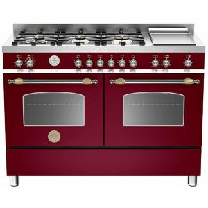 Bertazzoni 120cm Professional Series Dual Fuel Oven/Stove HER1206GMFEDVIT