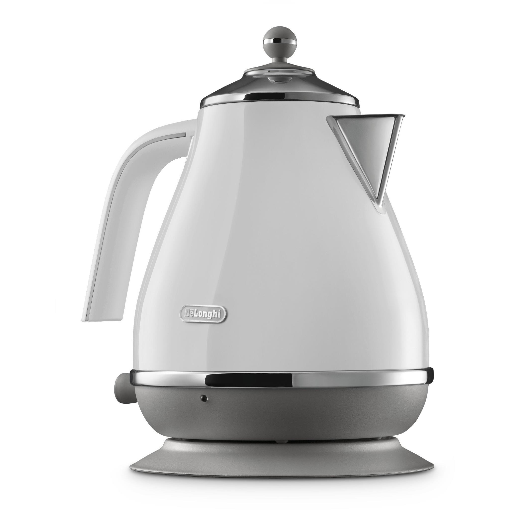DeLonghi Icona Capitals Kettle (Sydney White)