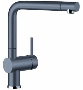 Blanco LINUSSG Single Lever Mixer with Pull Out Tap