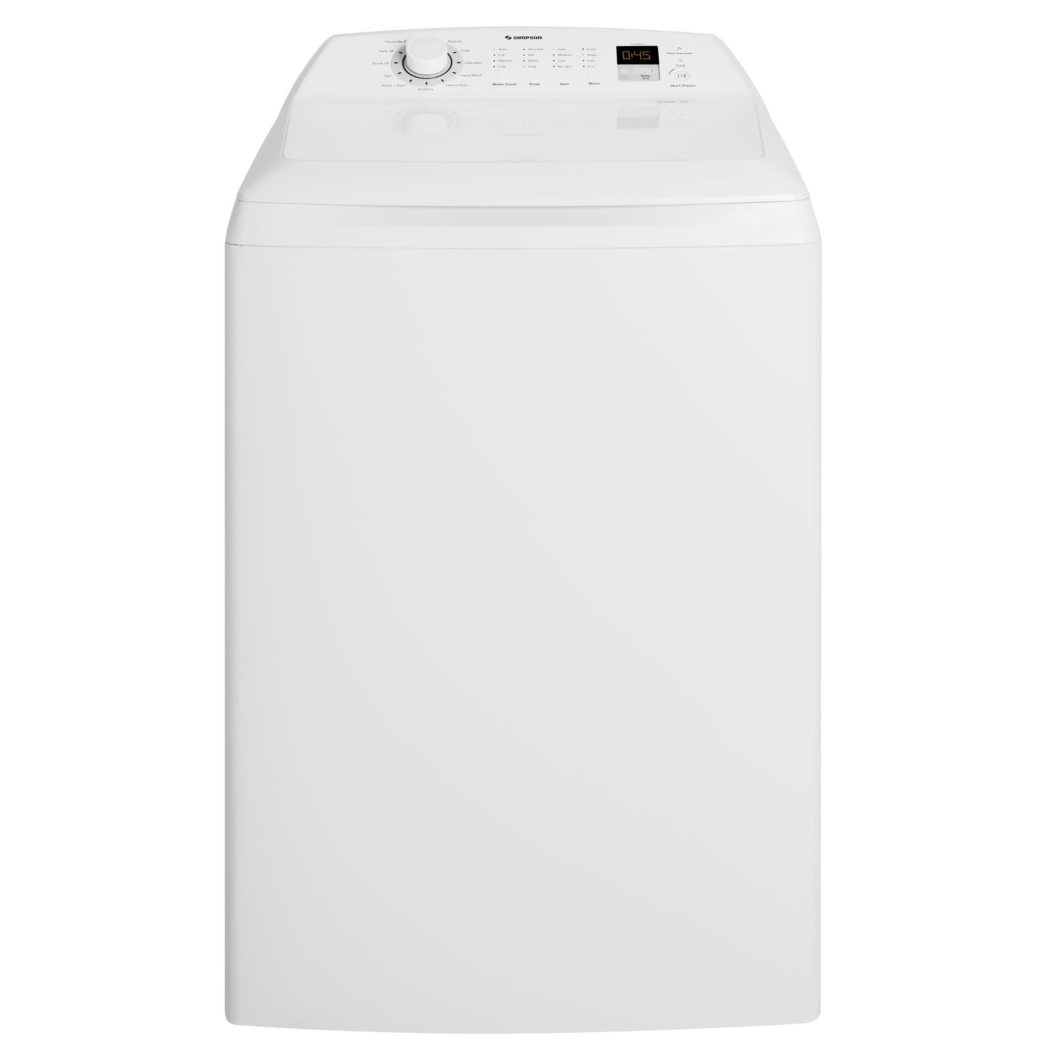 Simpson SWT1254LCWA 12kg Top Load Washer