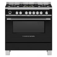 Fisher & Paykel – OR90SCG6B1 – 90cm Freestanding Dual Fuel Cooker – Black