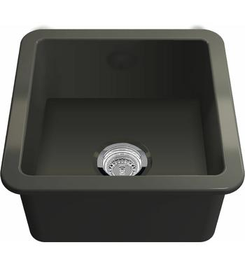 Turner Hasting CU46FS-MB Cuisine 46 Single Bowl Inset and Undermount Sink