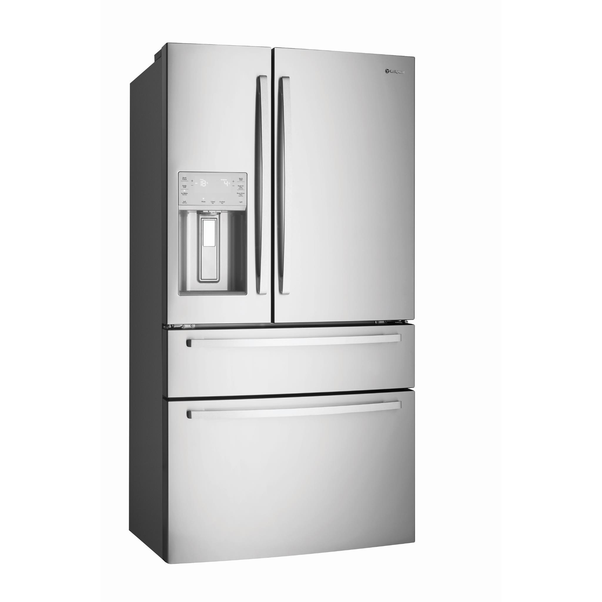 Westinghouse WHE6874SA 681L French Door Fridge (S/Steel)