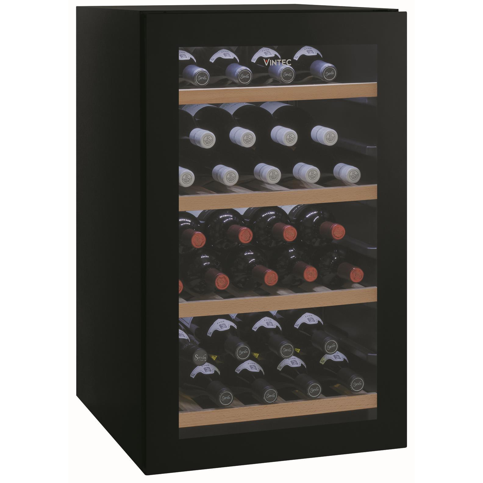 Vintec VWS035SBAX 35 Bottle Wine Cabinet