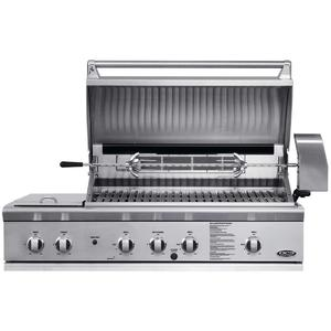 DCS Built-In BBQ with Side Burners BGB48-BQR-L