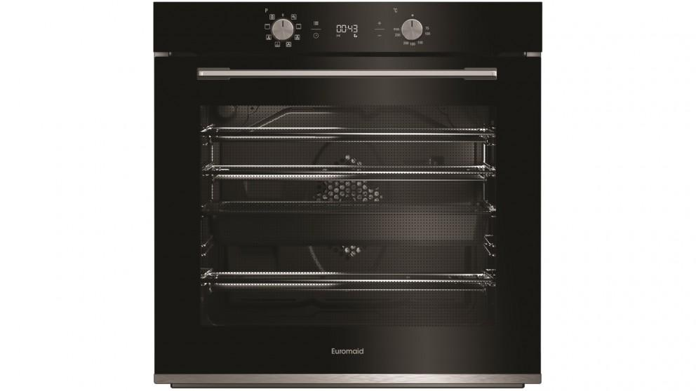 Euromaid Eclipse 600mm 8 Function Oven – Black
