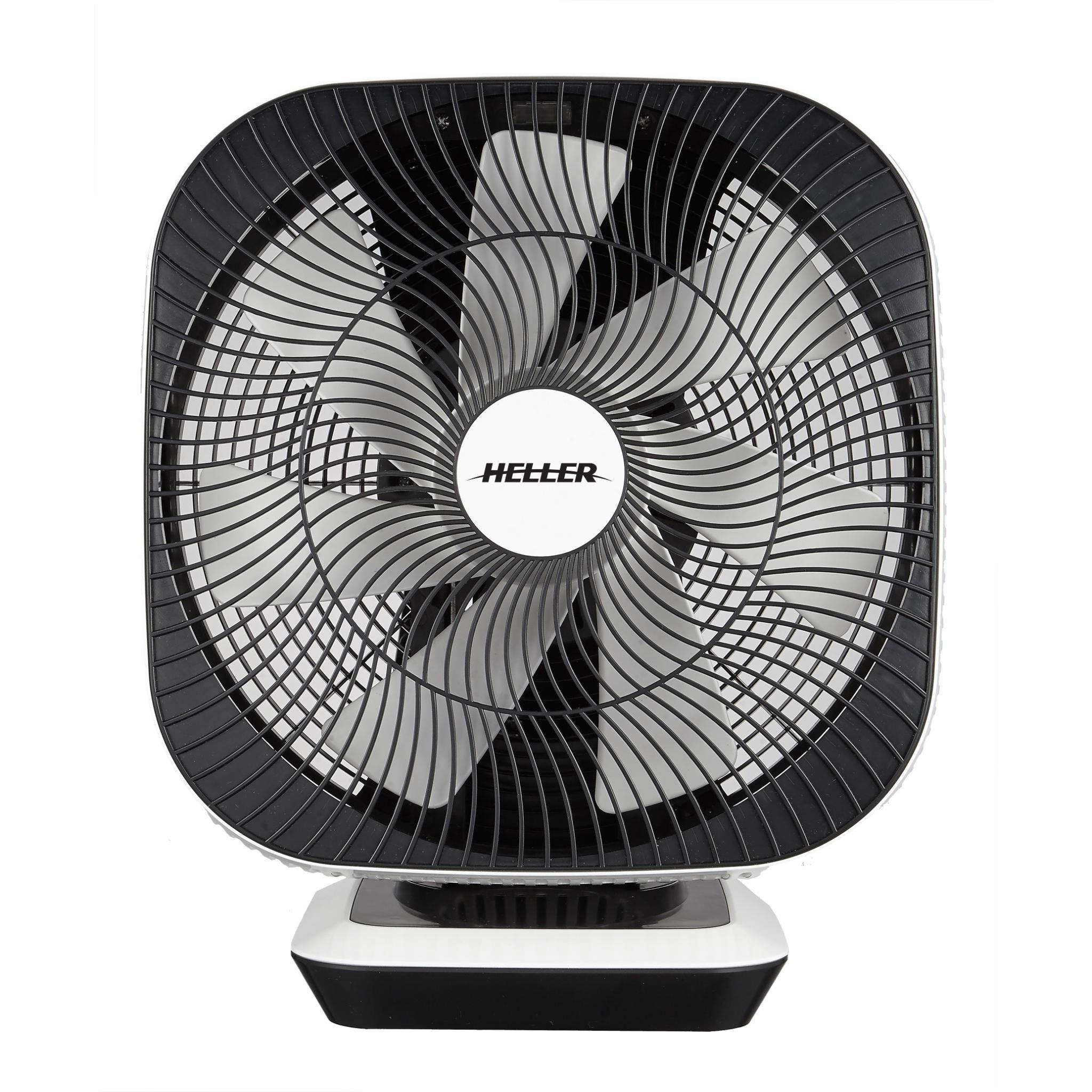 Heller HCDC30 30cm Oscillating Desk Fan