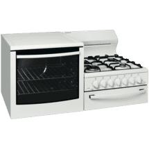 Westinghouse Left Hand Gas Elevated Cooker