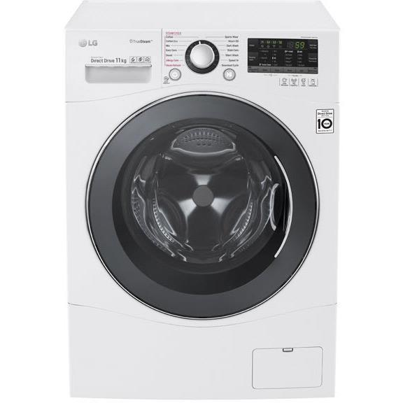 LG WD1411SBW 11kg Front Load Washer with True Steam