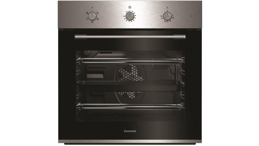Euromaid Eclipse 600mm Fan Forced Multifunction Oven – Stainless Steel