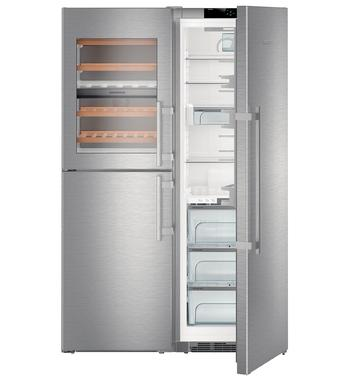 Liebherr 740L Side by Side Fridge SBSES8486