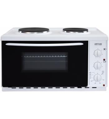 Artusi AOMK1 22L Vulcan Benchtop Oven with Cooktop