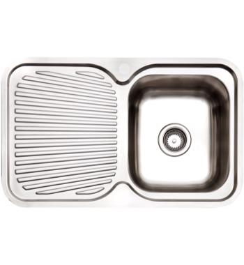 Arc IS8RS5 Single Bowl Left Hand Drainer Inset Sink
