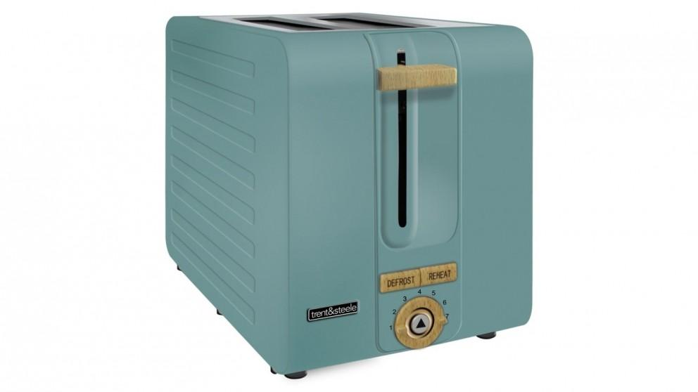Trent and Steel 2 Slice Toaster – Teal