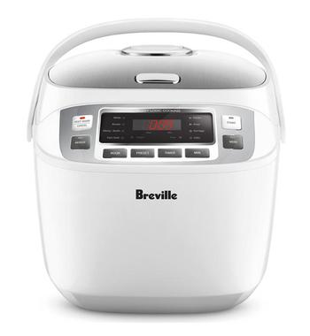 Breville LRC480WHT the Smart Rice Box Rice Cooker