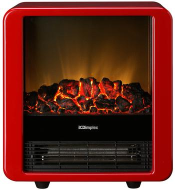 Dimplex 1.5KW Portable Electric Fire Heater MINICUBE-RED