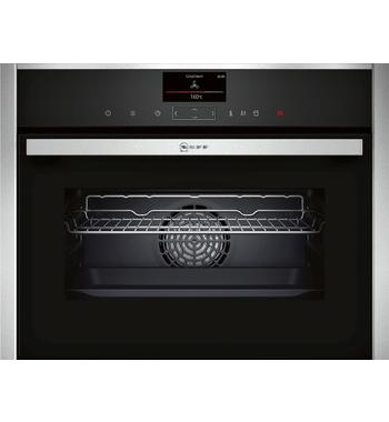 NEFF C17FS32H0B 45cm Compact Built-In Combi-Steam Oven