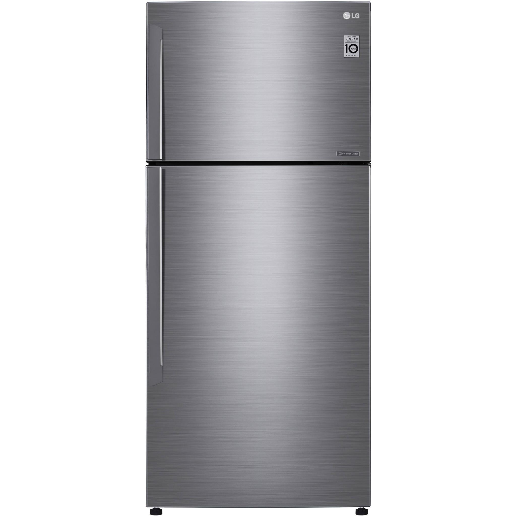 LG GT515SDC 516L Top Mount Fridge (S/Steel)