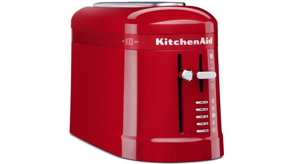KitchenAid 100 Year Queen of Hearts 2 Slice Toaster – Passion Red