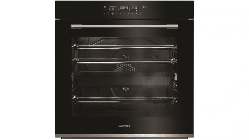 Euromaid Eclipse 600mm Full-Touch 13 Function Oven – Black