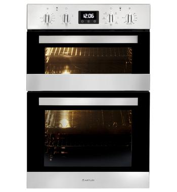 Artusi CAO888X-1 60cm Electric Built-In Double Oven