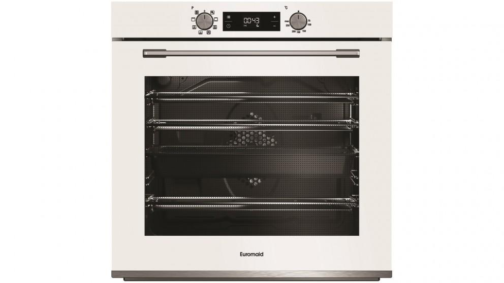 Euromaid Eclipse 600mm 8 Function Oven – White
