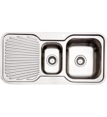 Arc IS9RS3 1 and 1/4 Bowl Left Hand Drainer Sink