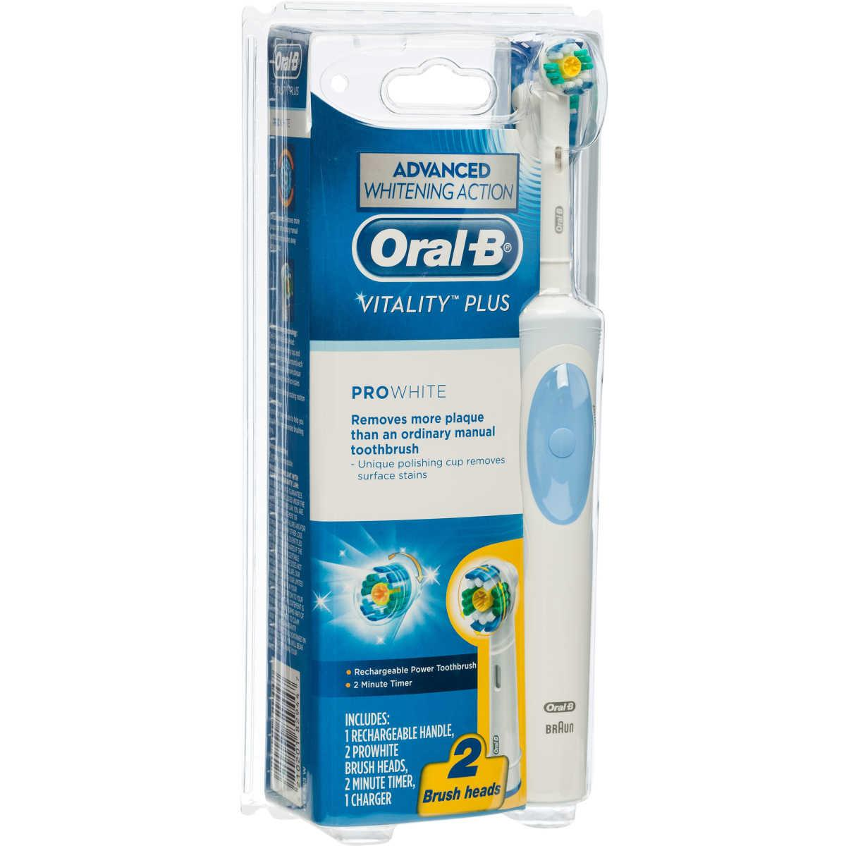 Oral-B Vitality Plus ProWhite Rechargeable Power Toothbrush