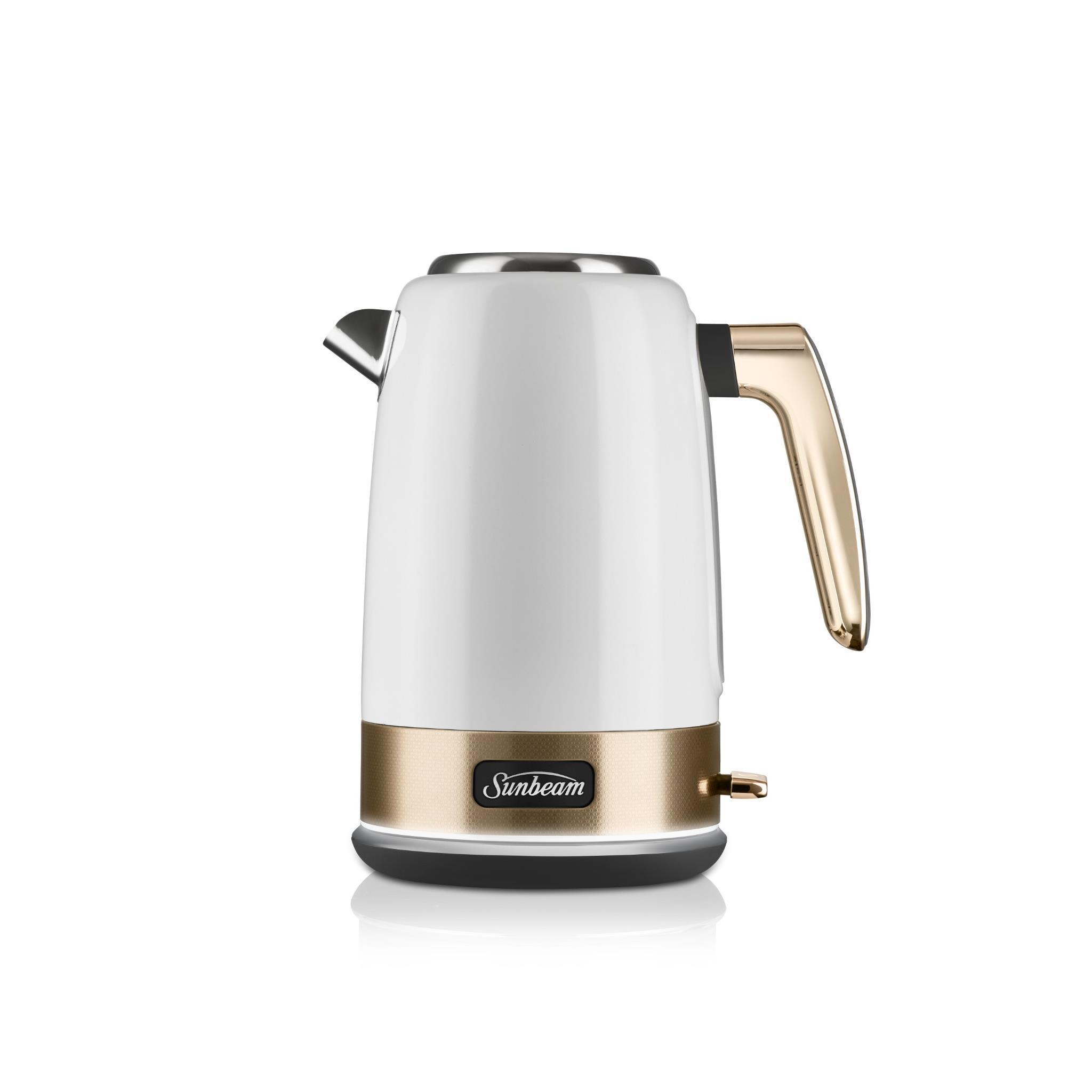 Sunbeam New York Jug Kettle (White Gold)