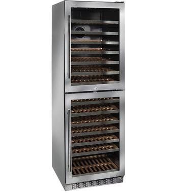 ILVE ILWDD154XR 154 Bottles Dual Zone Wine Storage Cabinet