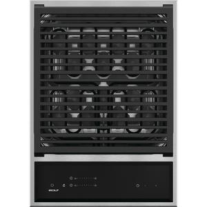 WOLF 38cm Transitional Electric Grill Cooktop ICBGM15TF/S